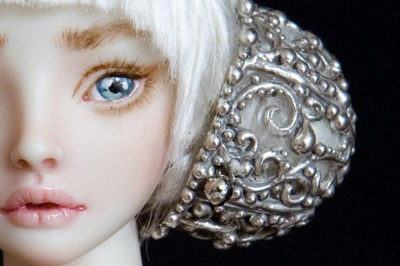 adelaparvu.com despre papusi din portelan, Enchanted Doll, artist Marina Bychkova, in foto model Cinderella (2)
