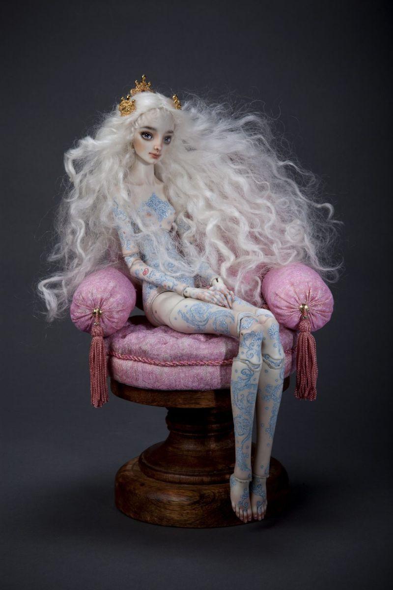 adelaparvu.com despre papusi din portelan, Enchanted Doll, artist Marina Bychkova, in foto model Madame P (2)