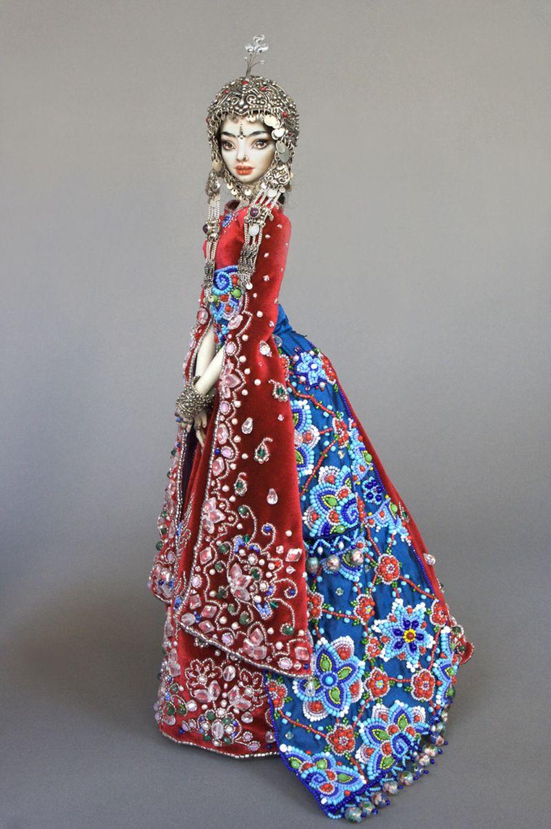 adelaparvu.com despre papusi din portelan, Enchanted Doll, artist Marina Bychkova, in foto model Sche (1)