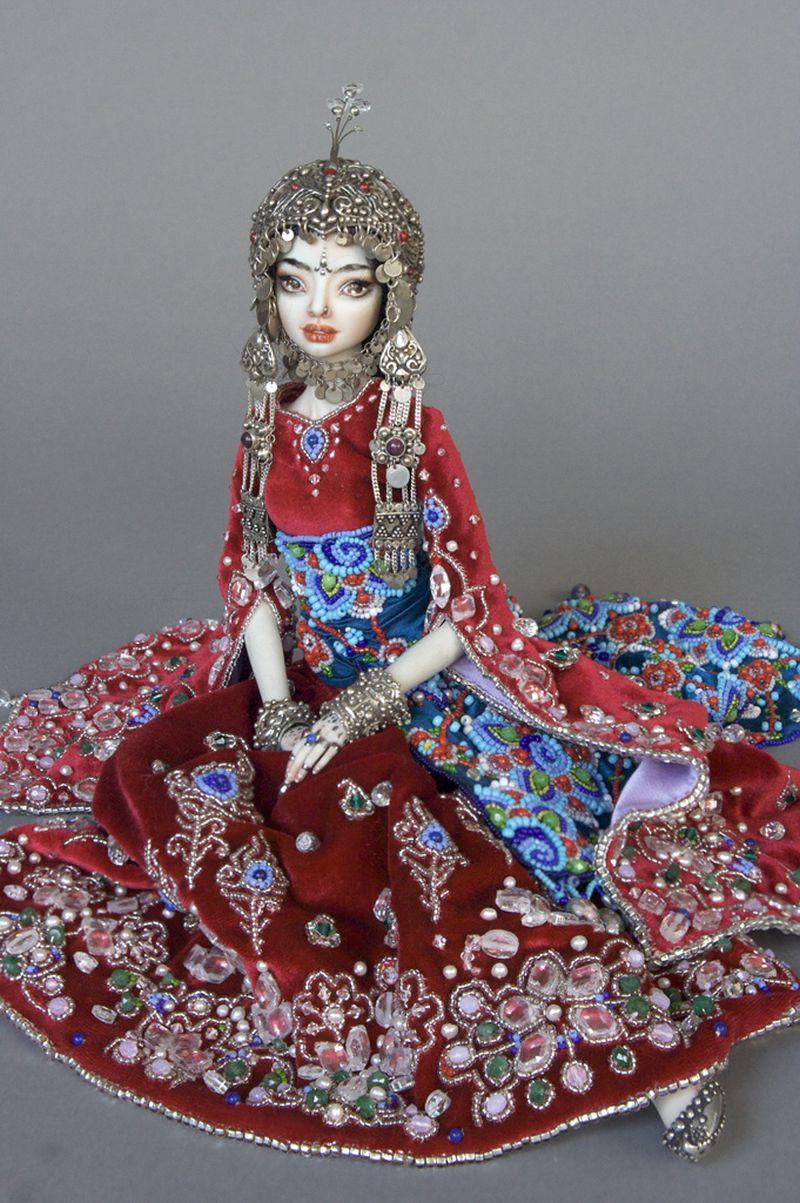 adelaparvu.com despre papusi din portelan, Enchanted Doll, artist Marina Bychkova, in foto model Sche (2)