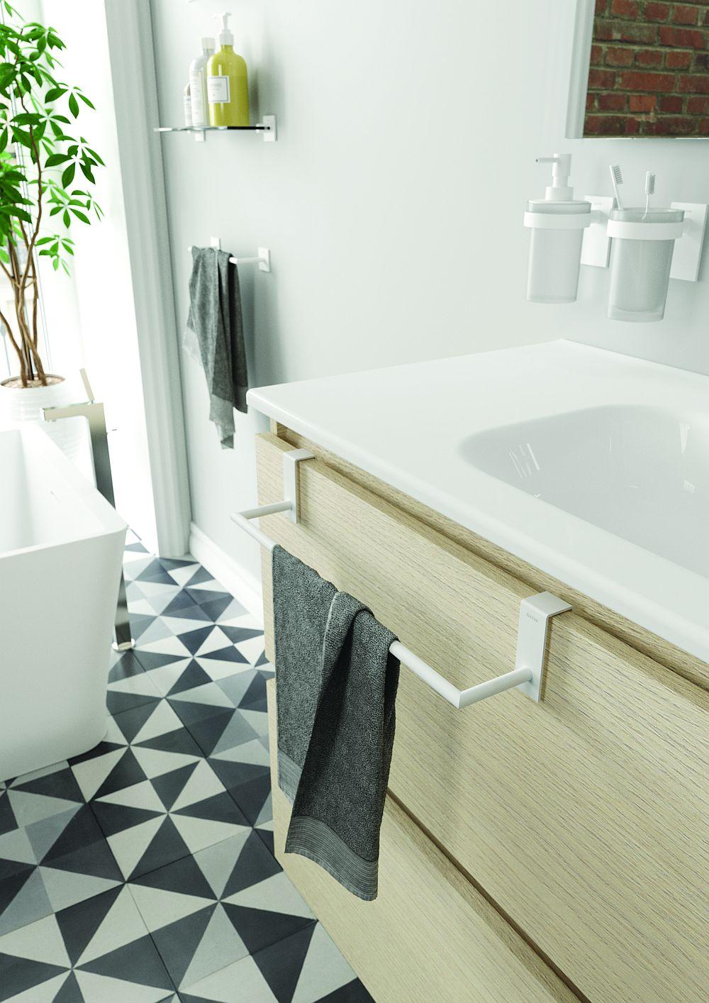 adelaparvu.com despre accesorii de baie de la Cosmic, colectia Stick, Bath+ (2)