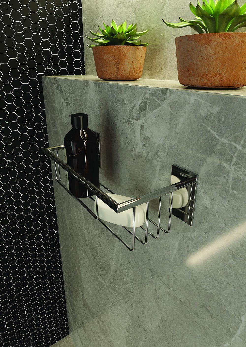 adelaparvu.com despre accesorii de baie de la Cosmic, colectia Stick, Bath+ (8)