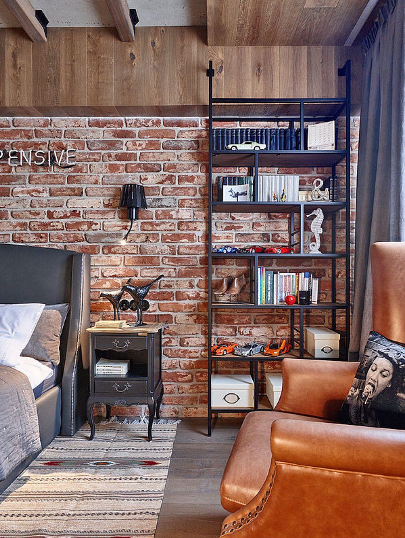 adelaparvu.com despre apartament 2 camere 69 mp in stil loft, design Olga Rayskaya (18)
