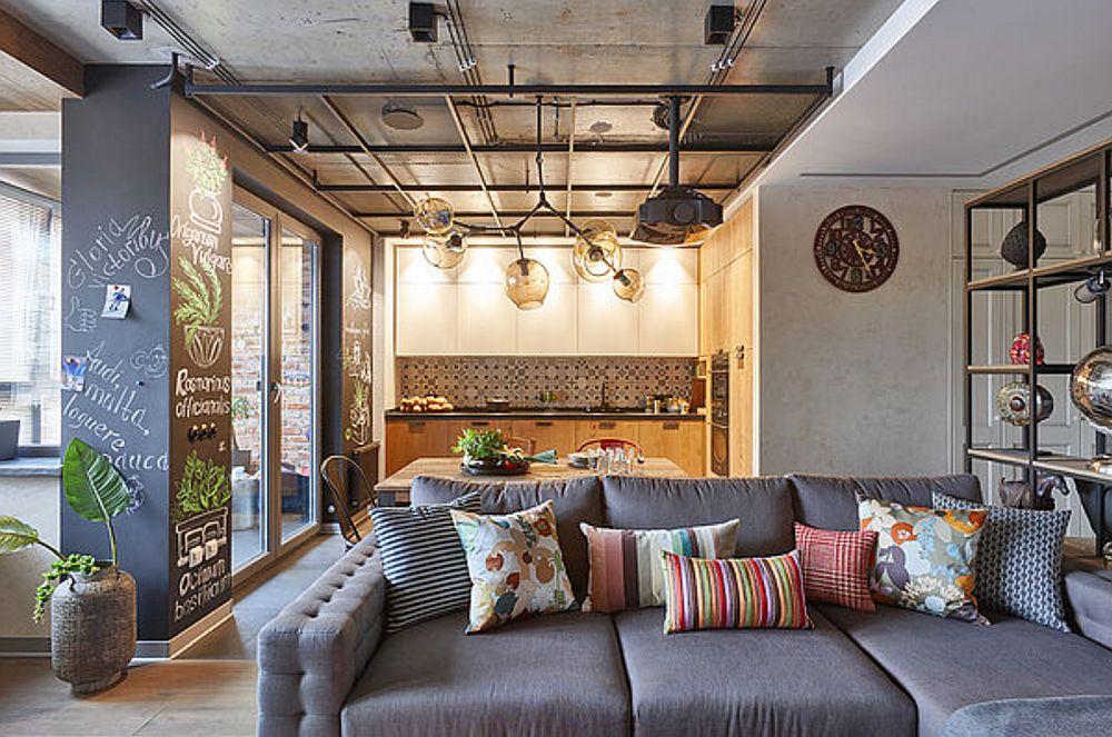 adelaparvu.com despre apartament 2 camere 69 mp in stil loft, design Olga Rayskaya (22)