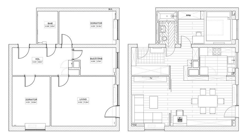 adelaparvu.com despre apartament 3 camere 55 mp, design Boho Studio (11)