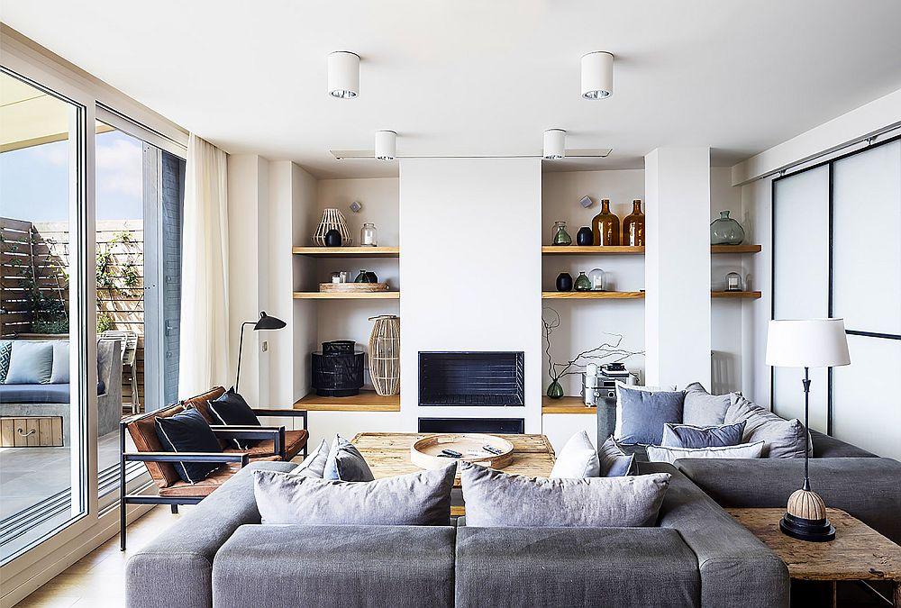 adelaparvu.com despre duplex cu terasa bucatarie de vara, design Abag Studio (1)