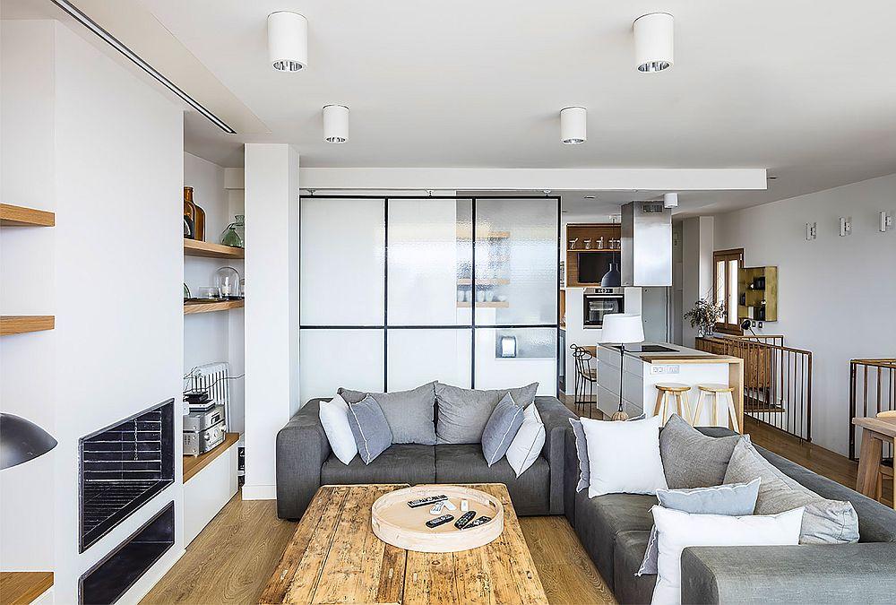 adelaparvu.com despre duplex cu terasa bucatarie de vara, design Abag Studio (2)
