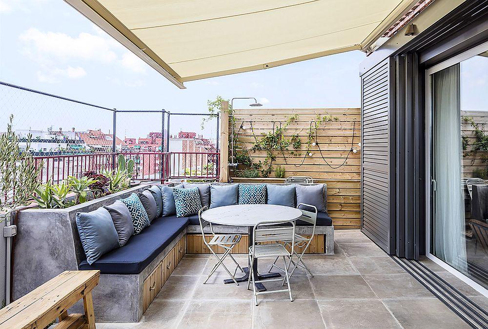 adelaparvu.com despre duplex cu terasa bucatarie de vara, design Abag Studio (4)