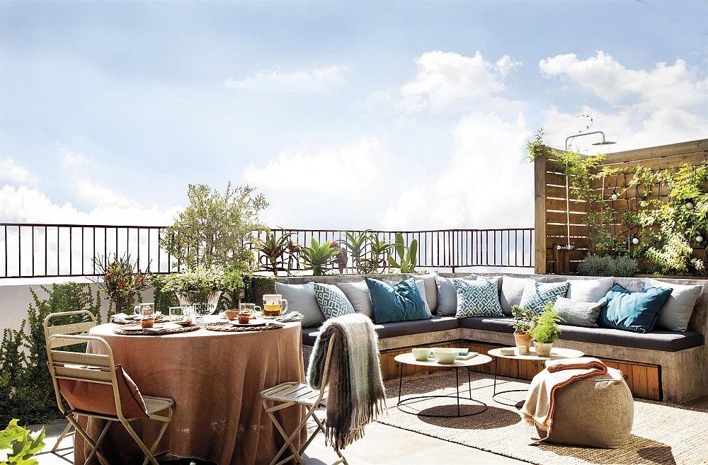 adelaparvu.com despre duplex cu terasa bucatarie de vara, design Abag Studio (9)