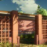 adelaparvu.com despre elemente gard caramida de la Brikston (1)