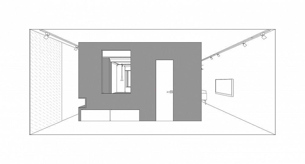 adelaparvu.com despre garsoniera 41 mp, design Ruetemple (1)