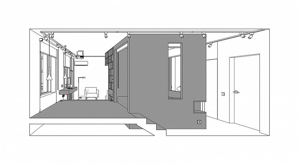 adelaparvu.com despre garsoniera 41 mp, design Ruetemple (3)
