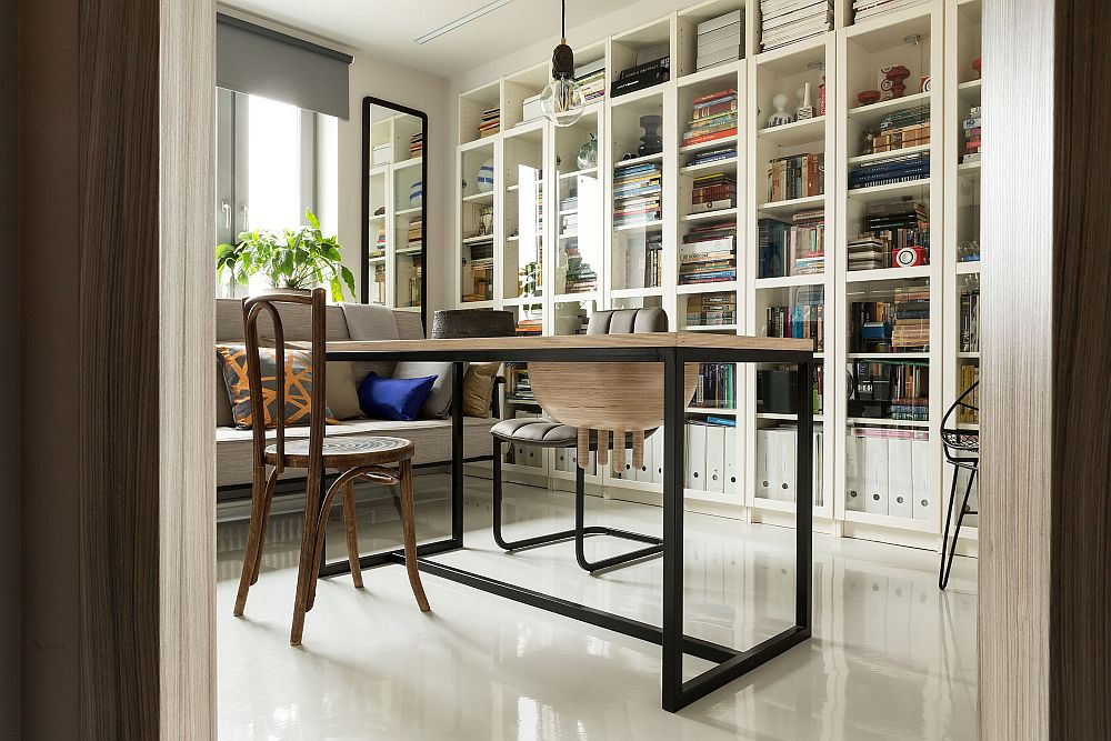 adelaparvu.com despre locuinta 38 mp, Moscova, design Irina Krasheninnikova, Foto Alexey Dovgan (13)