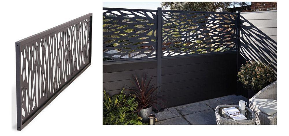Panourile decorative Every Fencing sunt din alumniu și pot fi folosite atât la exterior, cât și la interior. Vezi AICI model 1 și AICI model 2.