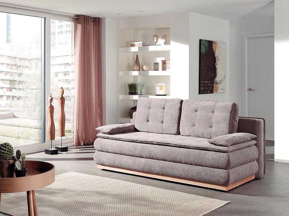Canapea extensibilă Taurus. Vezi dimensiuni și preț AICI.