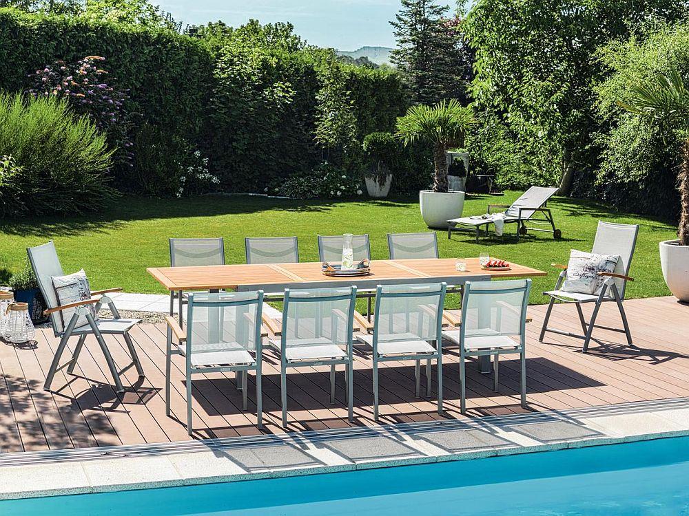 """Colecția de mobilier de grădină """"Erzberg"""". Vezi piese, materiale, preț AICI."""