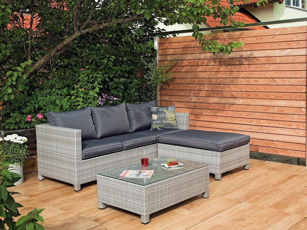 """Set lounge """"Libero"""". Vezi materiale, dimensiuni și preț AICI."""
