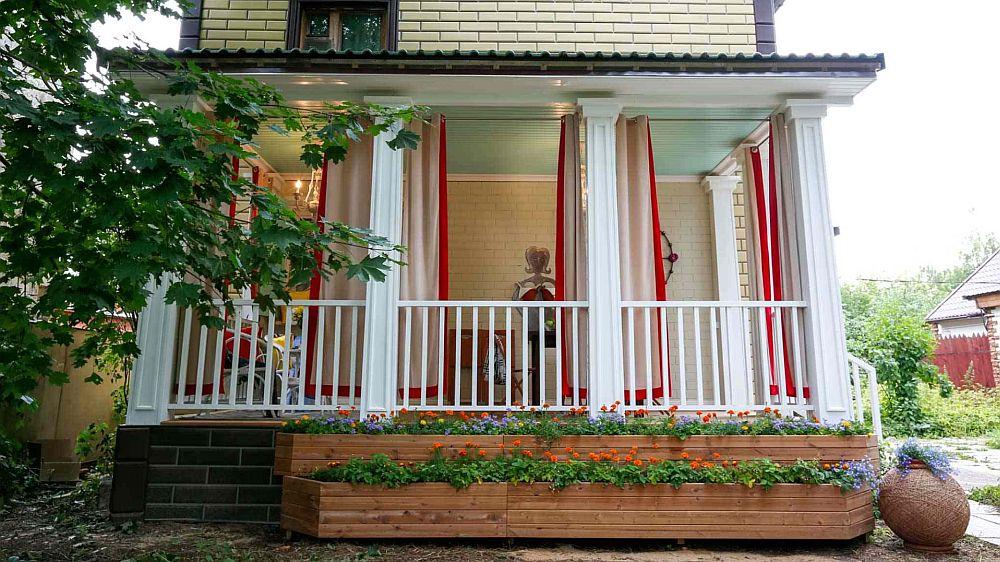 adelaparvu.com despre terasa adaugata casei, design Serghei Sagin, Foto Fazenda (14)