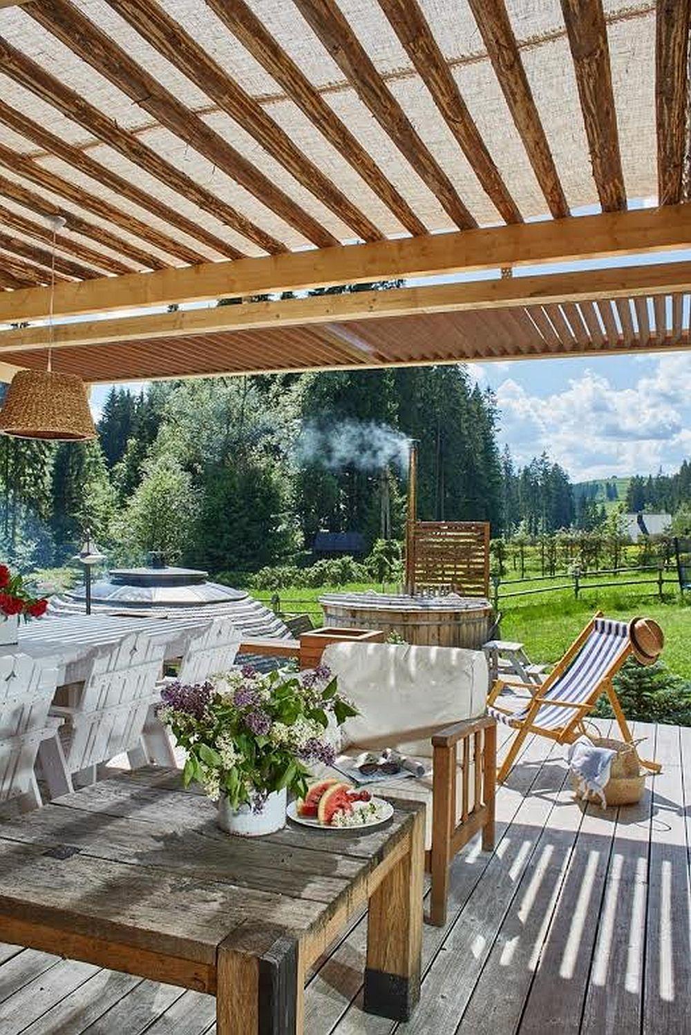 adelaparvuv.com despre casa cu terasa langa padure, Prowansalski Dom, Polonia (12)