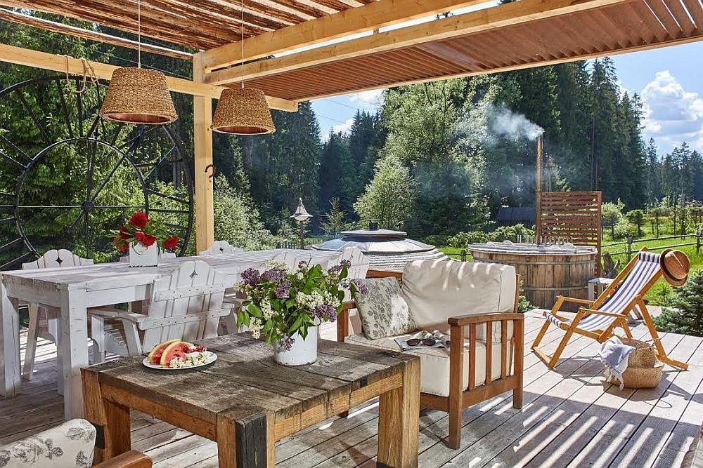 adelaparvuv.com despre casa cu terasa langa padure, Prowansalski Dom, Polonia (13)