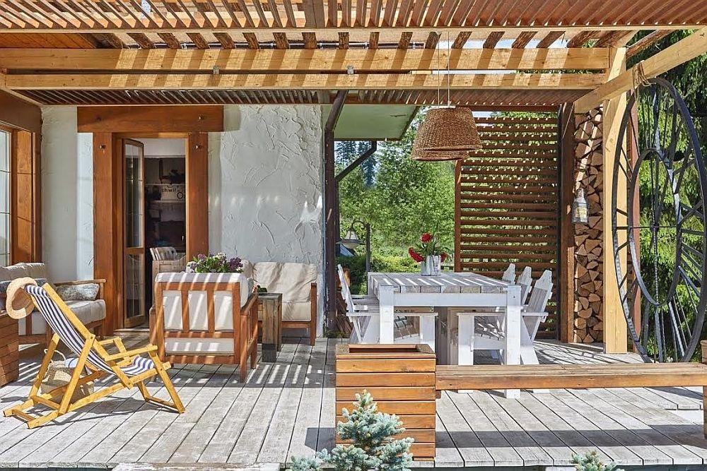 adelaparvuv.com despre casa cu terasa langa padure, Prowansalski Dom, Polonia (14)