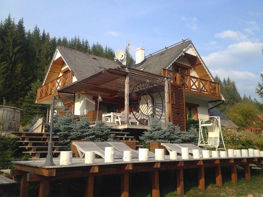 adelaparvuv.com despre casa cu terasa langa padure, Prowansalski Dom, Polonia (22)