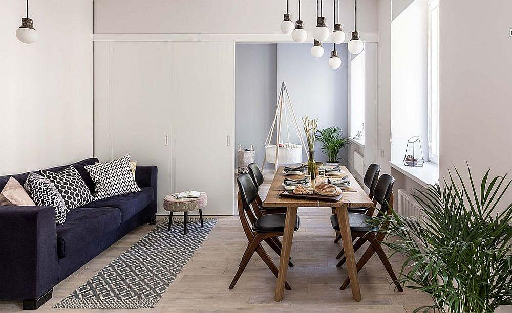 adelaparvu.com despre apartament 2 camere 51 mp, design Tochka Design, Foto Mikhail Stepanov (8)