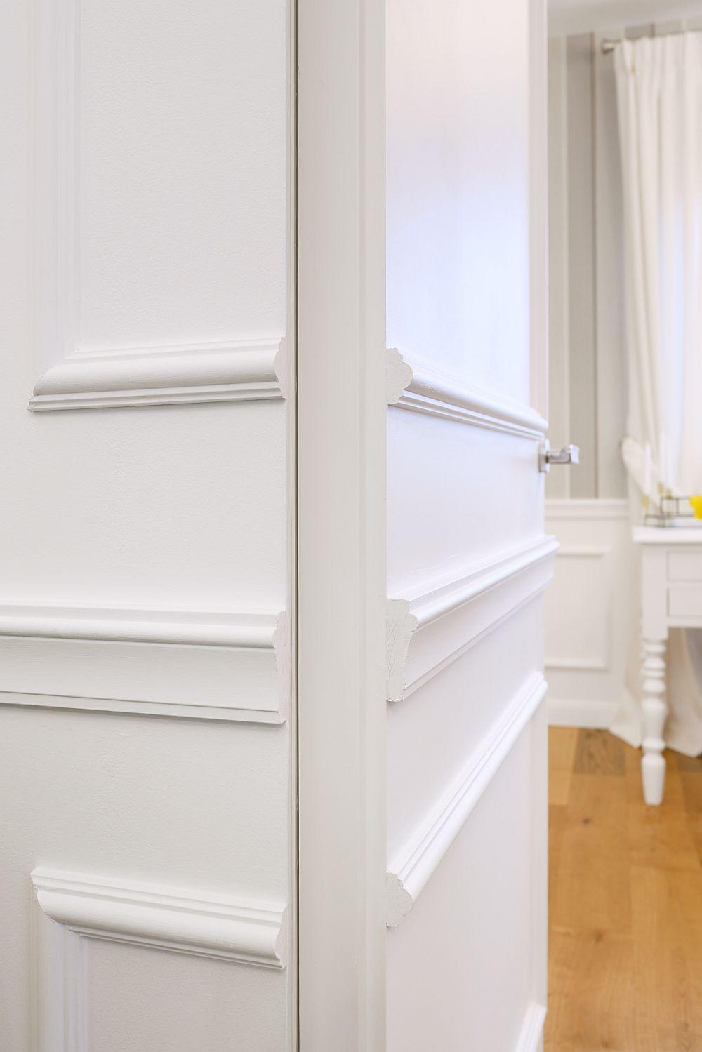 Pentru ca profilul de pe uși să nu împiedice închiderea acestora, toate detalile tehnice au fost rezolvate încă din faza de proiect împreună cu furnizorul de uși.