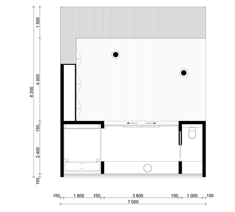 adelaparvu.com despre cabana 15 mp in jurul copacilor, arhitectura Saunders Architects, Foto Bent Rene Synnevag (13)