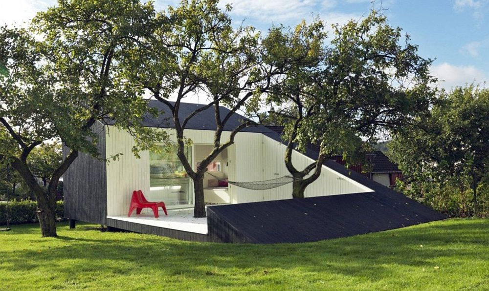 adelaparvu.com despre cabana 15 mp in jurul copacilor, arhitectura Saunders Architects, Foto Bent Rene Synnevag (2)