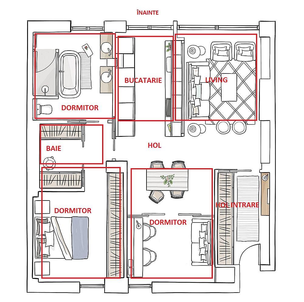 adelaparvu.com despre transformare apartament 80 mp, design Natalia Zubizarreta, Foto Felipe Scheffel Bell (6)