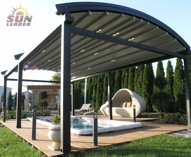 Helioscreen's new All Seasons retractable roof awnings range for 2017