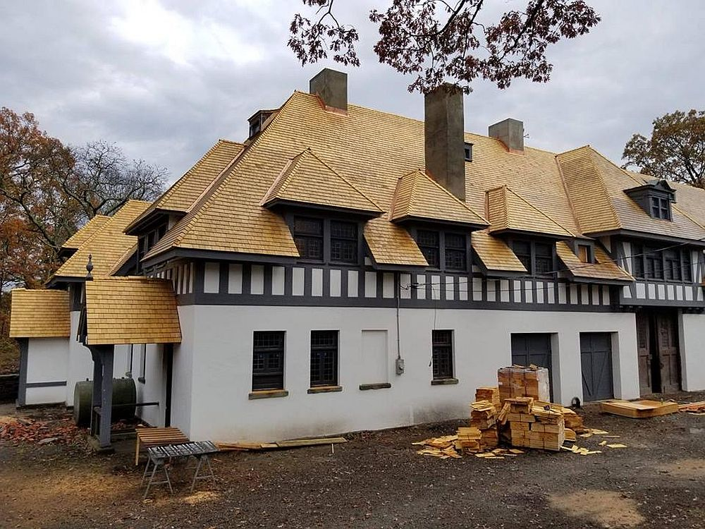 adelaparvu.com despre acoperis din lemn de cedru si lemn cedru pentru fadate de la Georoof (12)