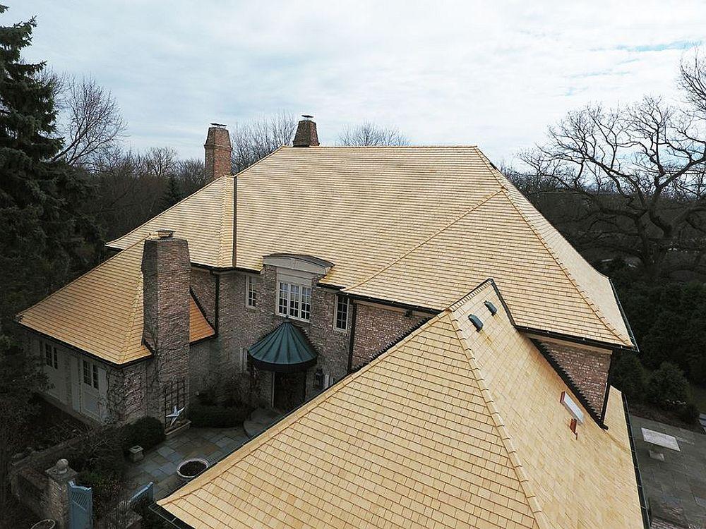 adelaparvu.com despre acoperis din lemn de cedru si lemn cedru pentru fadate de la Georoof (13)