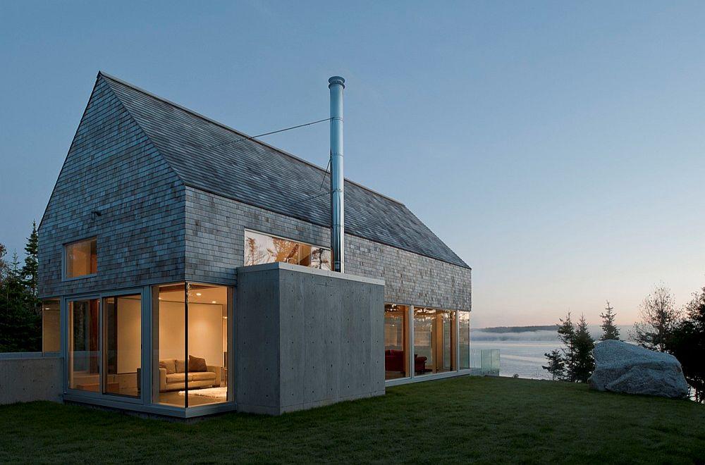 adelaparvu.com despre acoperis din lemn de cedru si lemn cedru pentru fadate de la Georoof (15)