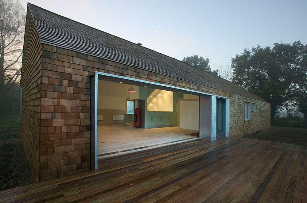 adelaparvu.com despre acoperis din lemn de cedru si lemn cedru pentru fadate de la Georoof (17)