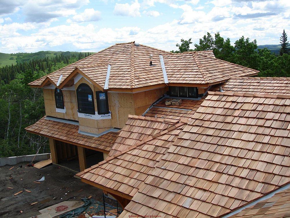 adelaparvu.com despre acoperis din lemn de cedru si lemn cedru pentru fadate de la Georoof (19)