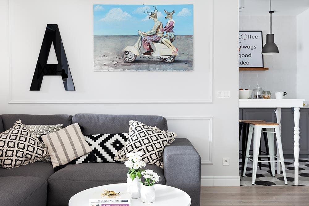 adelaparvu.com despre apartament 90 mp in stil scandinav, design Domagala Design, Foto Ayuko Studio (10)