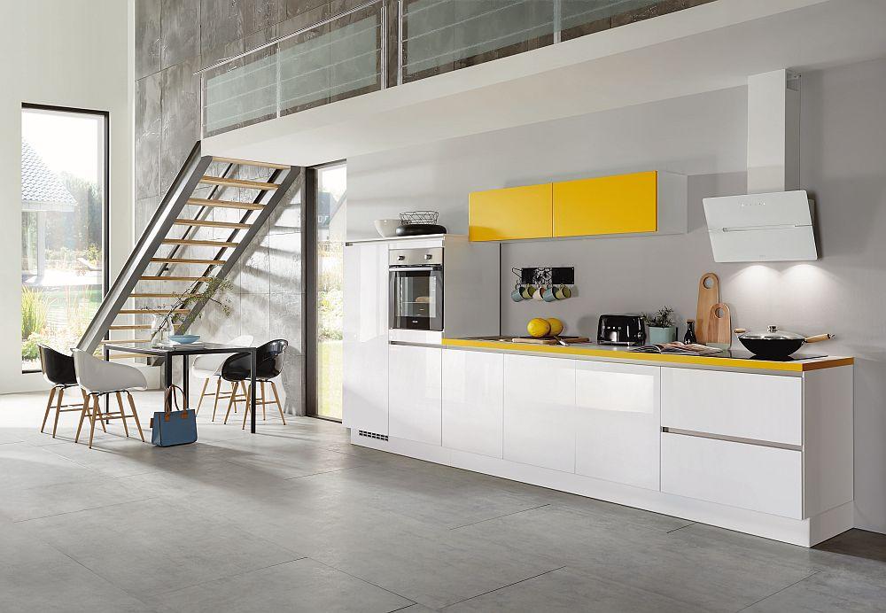 Bucătărie Nobilia model Focus disponibilă prin kika.
