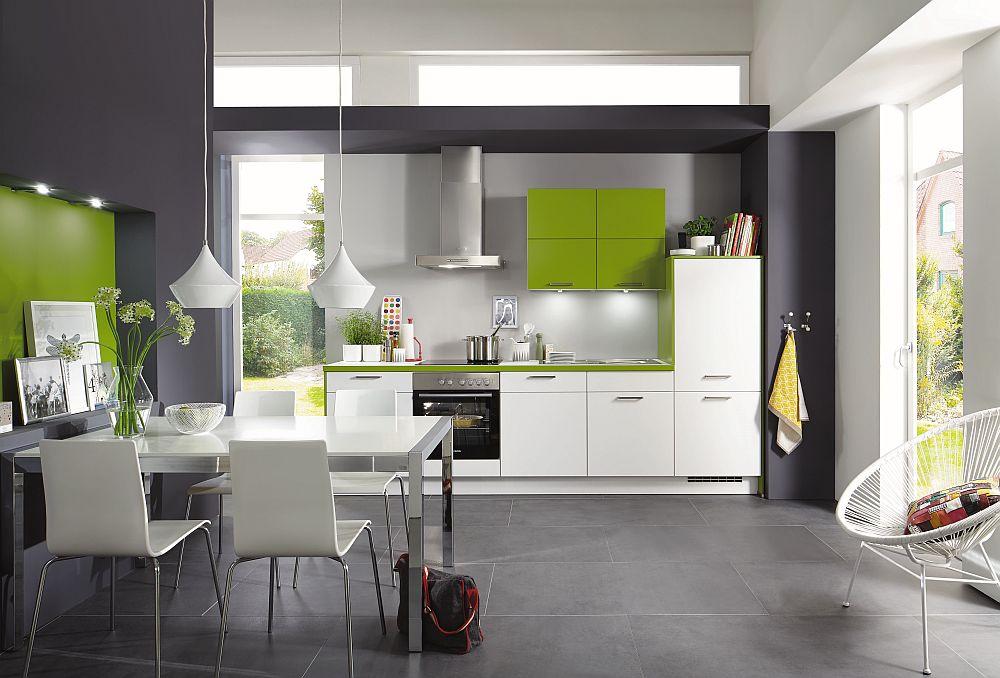 Bucătărie Nobilia model Laser disponibilă prin kika.