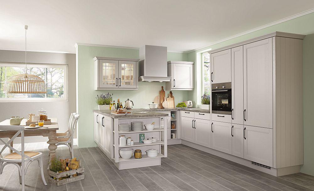 Mobilă de bucătărie Nobilia, colecția York disponibilă prin kika. Fronturile şi lateralele corpurilor de bucătării Nobilia de la kika, fabricate în Germania, sunt prevăzute cu un cant sigilat, etanş ce nu permite pătrunderea impurităţilor în interior. Picioarele de susţinere permit o reglare individuală astfel încât bucătăria să se potrivească perfect chiar dacă podeaua nu este nivelată perfect.