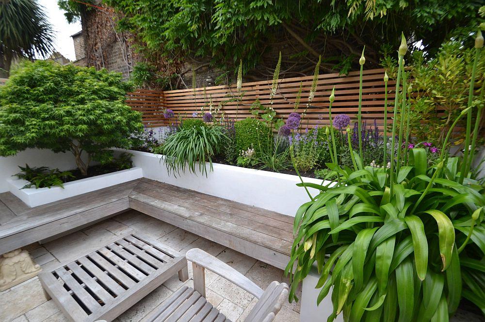 adelaparvu.com despre gradina urbana in curte mica, design Living Colour Gardens (4)