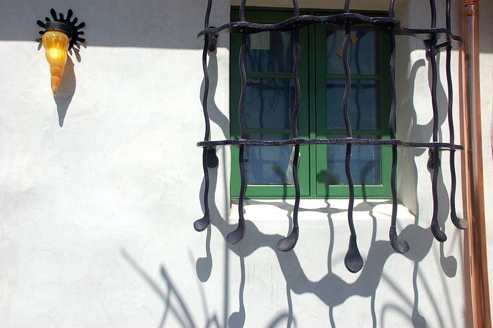 Detaliu fereastră Arbolado House, arhitect Jeff Shelton