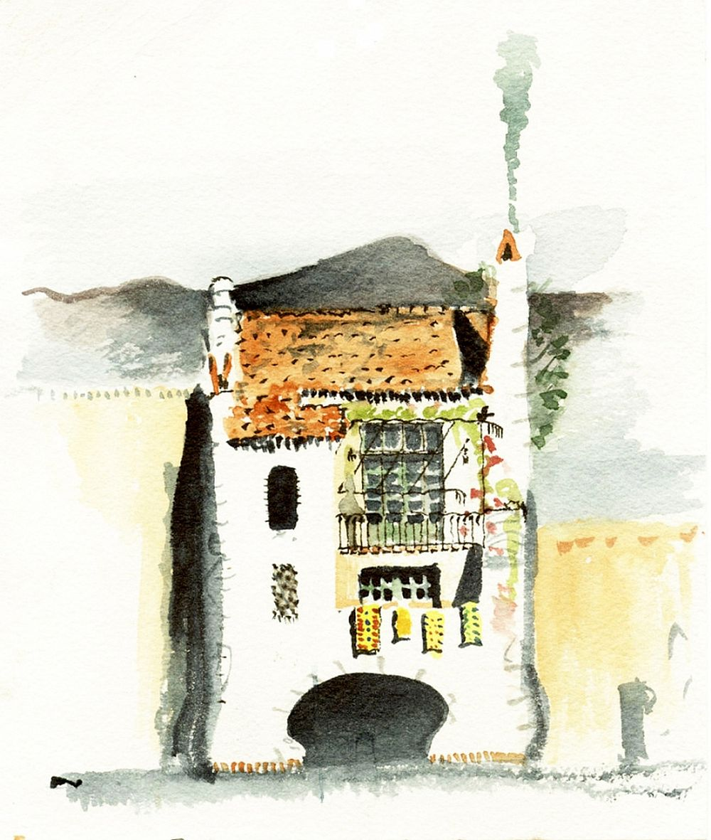 Plansă cu Pistachio House, arhitect Jeff Shelton