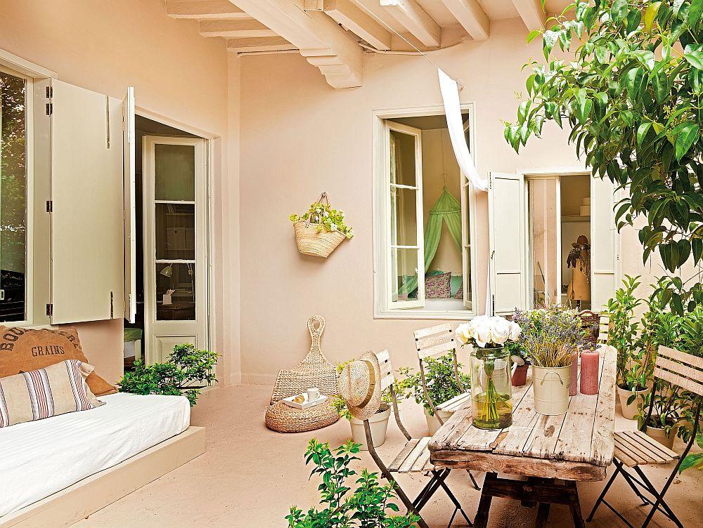adelaparvu.com despre banchete amenajate pe terasa, idei pentru terase si balcoane, Foto ElMueble (1)