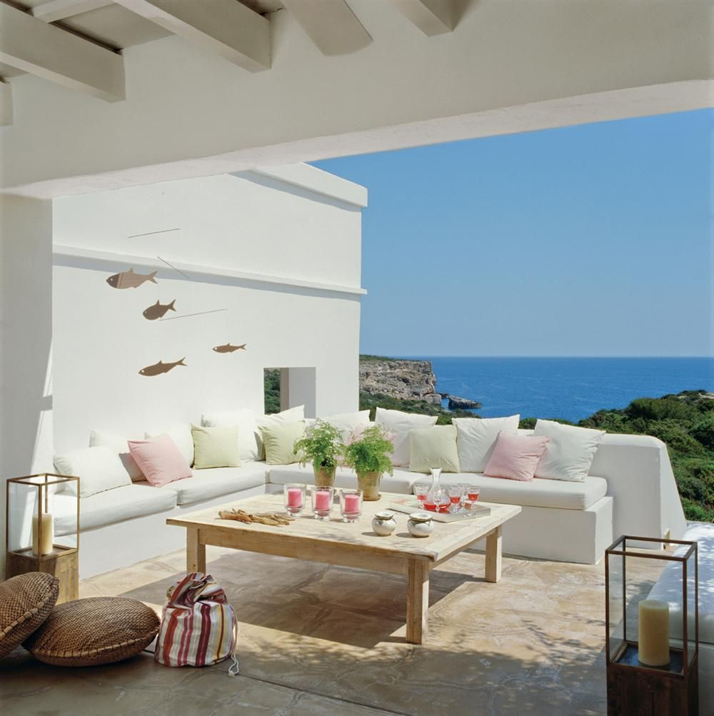 adelaparvu.com despre banchete amenajate pe terasa, idei pentru terase si balcoane, Foto ElMueble (12)