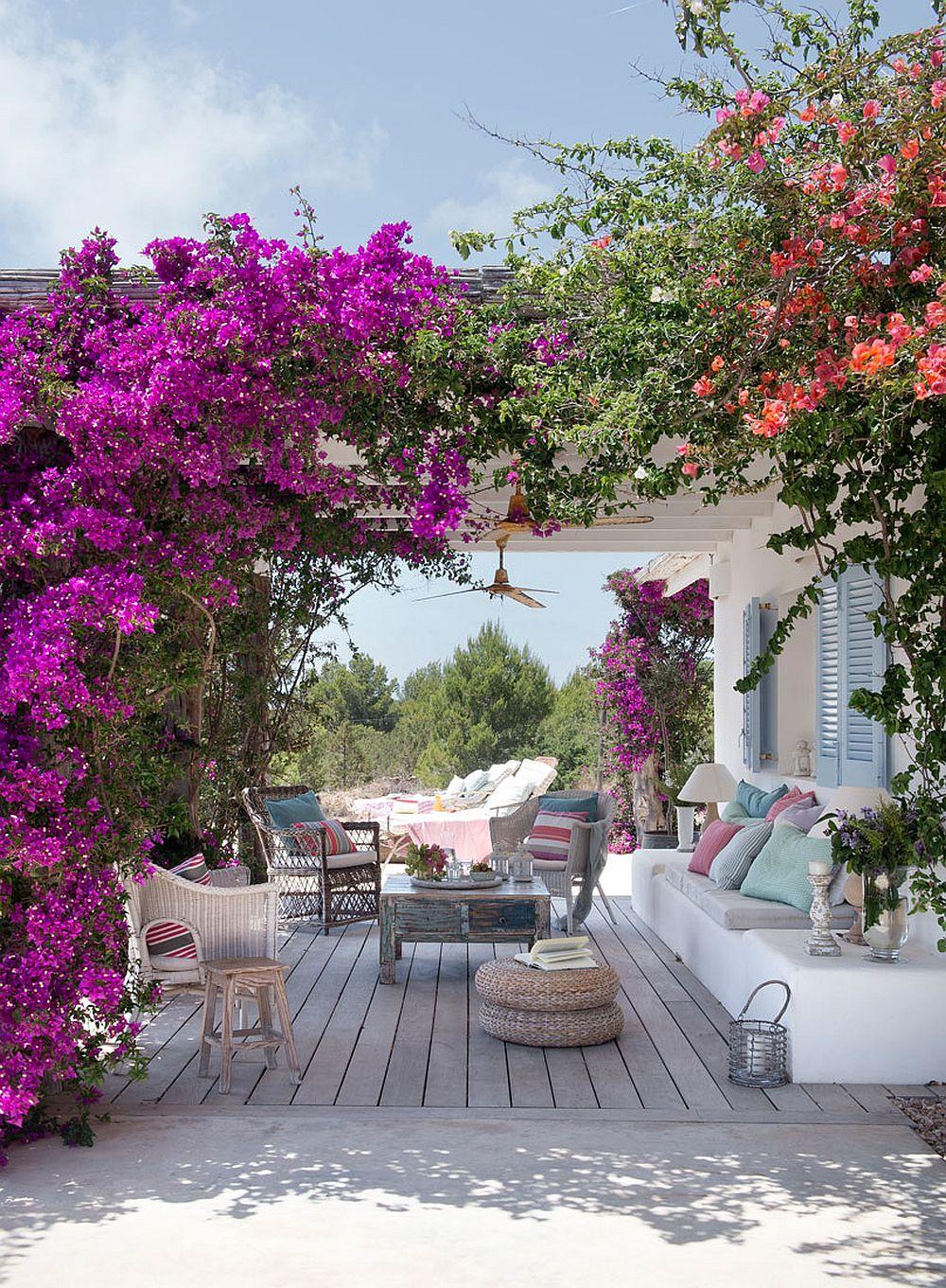 adelaparvu.com despre banchete amenajate pe terasa, idei pentru terase si balcoane, Foto ElMueble (19)