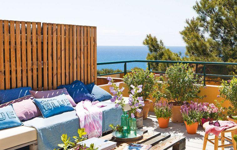 adelaparvu.com despre banchete amenajate pe terasa, idei pentru terase si balcoane, Foto ElMueble (24)