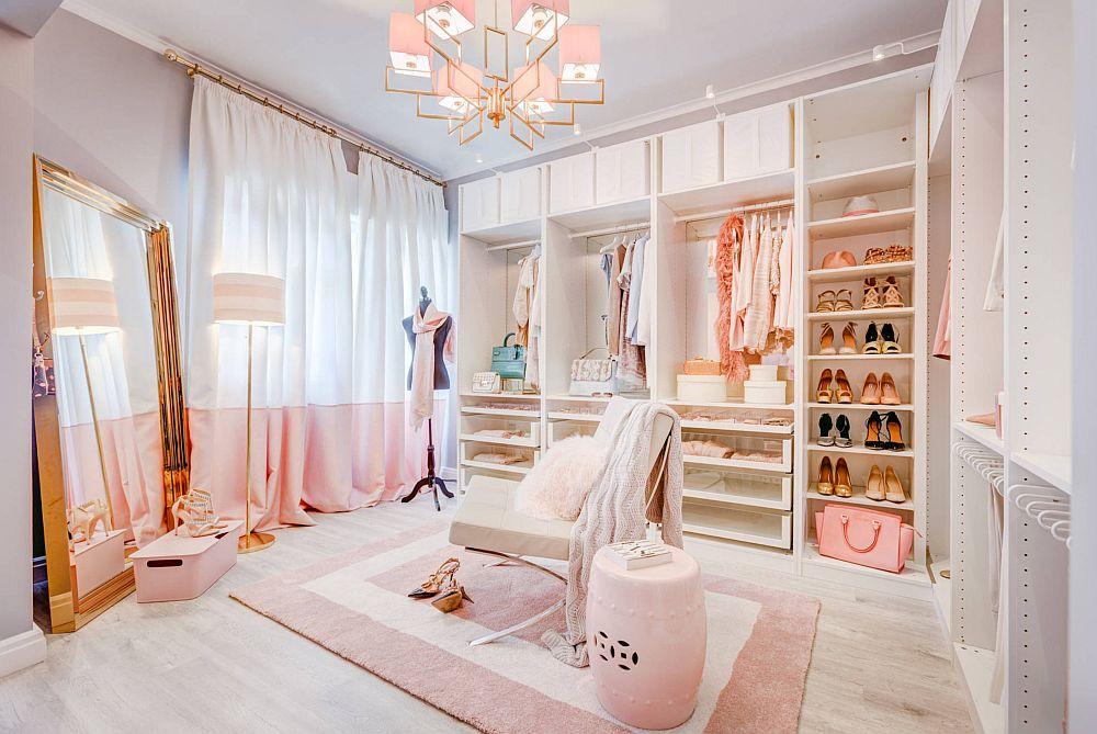 adelaparvu.com despre interioare cu roz pudrat si auriu, Foto Ana Antunes Homestyling