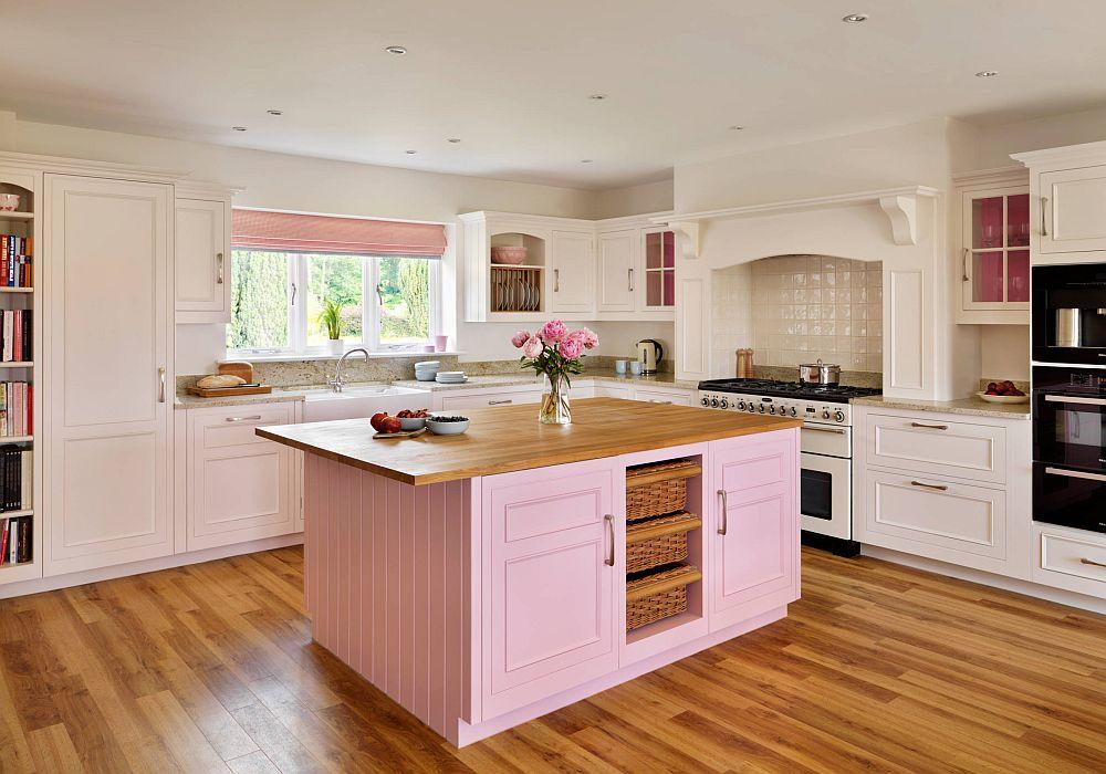 adelaparvu.com despre interioare cu roz pudrat si auriu, Foto Harvey Kitchen
